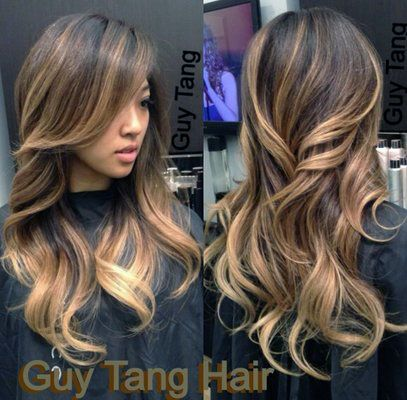 balayage ombre. , considering doing something like this when my hair starts to grow out