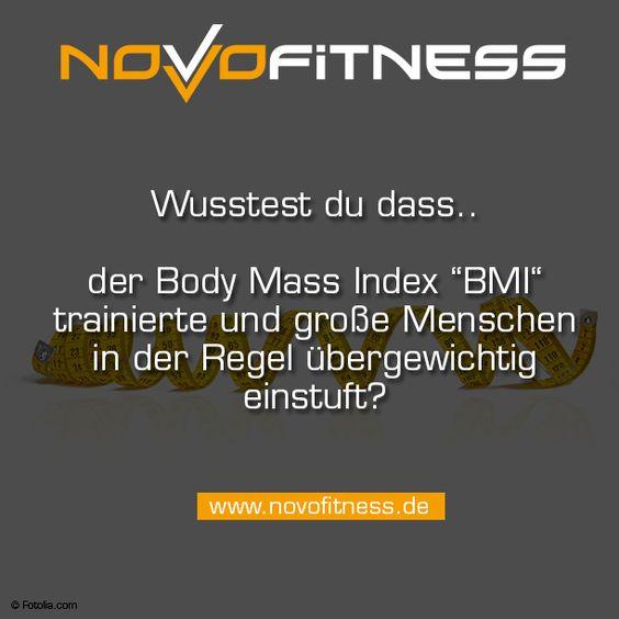 Wusstest Du dass der Body Mass Index BMI trainierte und große Menschen in der Regel übergewichtig einstuft?