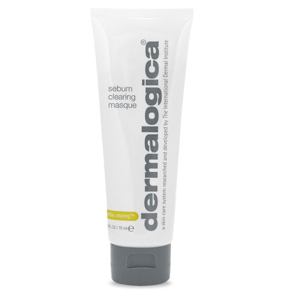 dermalogica sebum clearing masque breakout preventing clay Cooling clay masque helps clear and prevent breakouts. Oil-absorbing clays help detoxify skin as Salicylic Acid stimulates natural exfoliation to clear pore congestion.