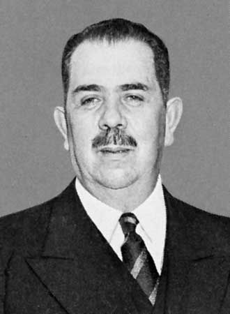 ALázaro Cárdenas,president of Mexico (1934–40), noted for his efforts to carry out the social and economic aims of the Mexican Revolution.