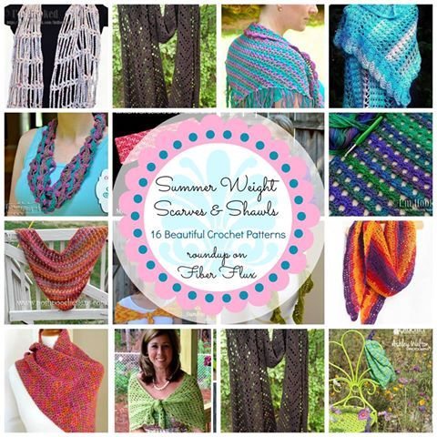 http://www.fiberfluxblog.com/2014/07/16-summer-weight-scarves-and-shawls.html