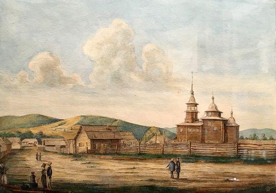 Рисунок из Музея декабристов, Чита. Фото: Evgenia Shveda