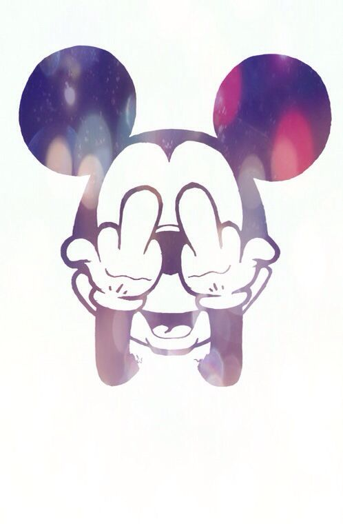 รูปภาพ mickey, fuck, and mickey mouse
