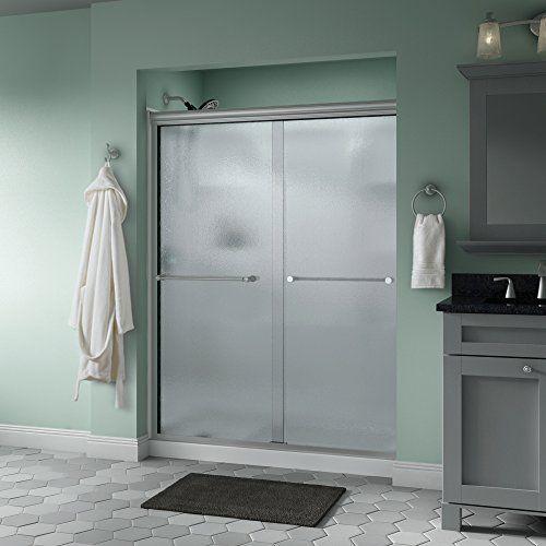 Discounted Woodbridge Mbsdc6076c Frameless Sliding Shower 56 60 Width 76 Height 3 8 10 Mm Shower Doors Sliding Shower Door Semi Frameless Shower Doors