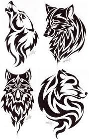 Love the last one! My Celtic sign #tribal #wolf #tattoos