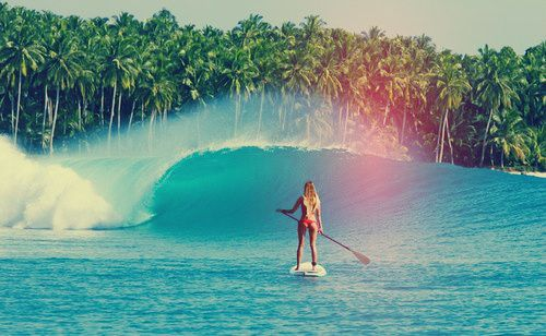Where I Want To Be Surfing Sup Surf Paddle Boarding