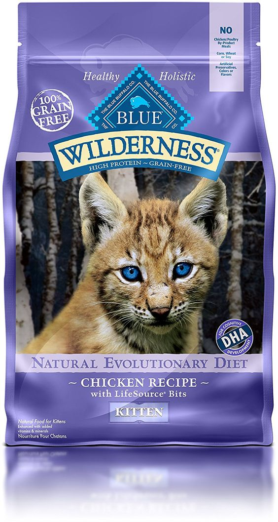 Blue Buffalo Wilderness High Protein Dry Kitten Food Want To