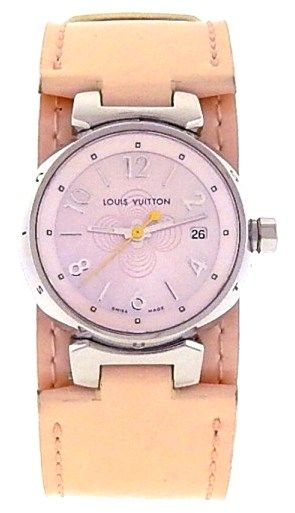 Louis Vuitton Tambour Q1216 Stainless Steel Ladies Watch