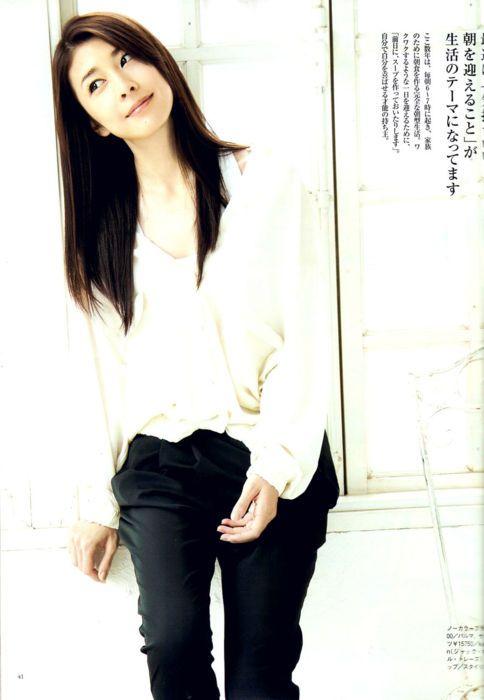 竹内結子のシャツ