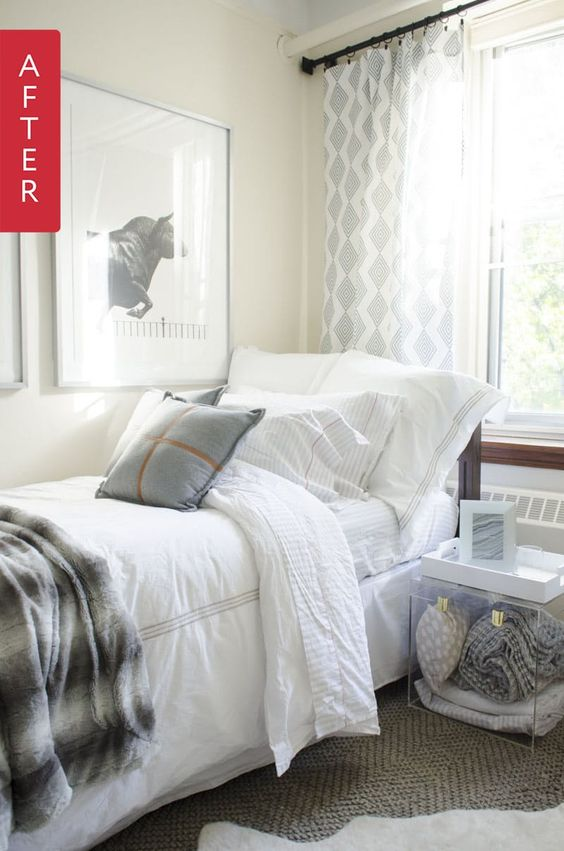Before & After: The Dreamiest of Dreamy Dorm Rooms