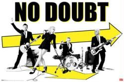 No Doubt poster: Arrows (34'' X 22 1/4'' poster) Only $5.94