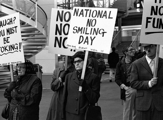 National NO Smiling Day. S)