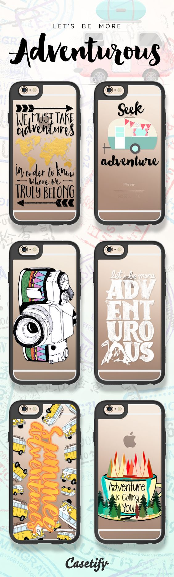 Top 6 wanderlust iPhone 6s protective phone cases   Click through to see more travel iPhone phone case ideas >>> https://www.casetify.com/artworks/S1iuThIWhR   @casetify