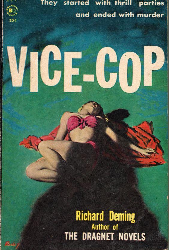 VICE-COP #pulp #art #noir #cover: