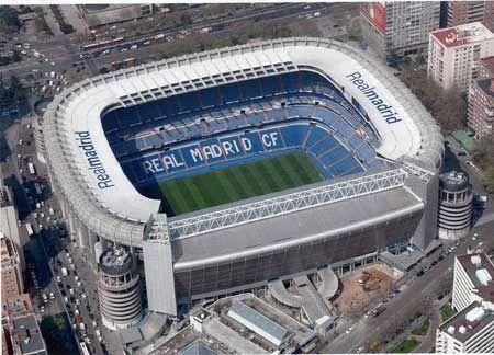 Estadio Santiago Bernabéu. Madrid, España