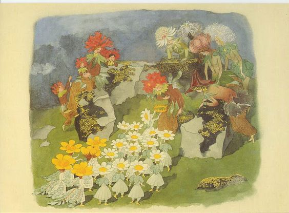 Ernst Kreidolf (1863-1956) Swiss Artist ~ Blog of an Art Admirer