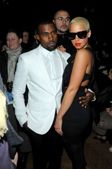 Kanye West And Amber Rose Photos Photos Paris Fashion Week Haute Couture S S 2010 Givenchy Arrivals Paris Fashion Week Fashion Week Fashion