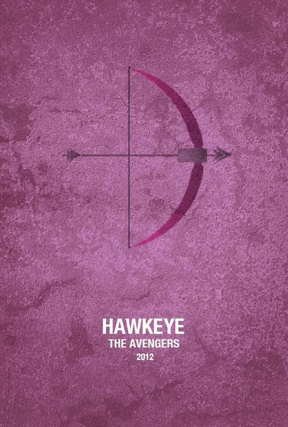 Avengers Alternative Minimalist Movie Poster  - 002