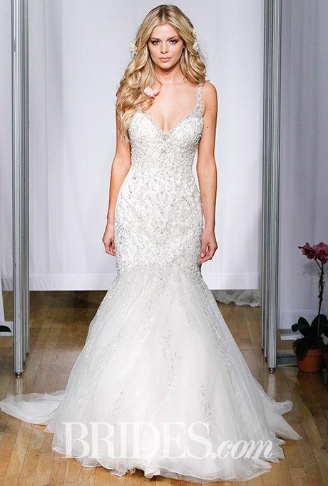 Brides: Mori Lee Wedding Dresses - Fall 2016 - Bridal Runway Shows - Brides.com