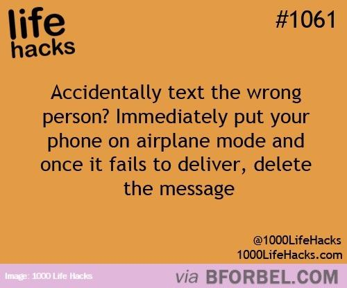 Emergency Texting Tip…