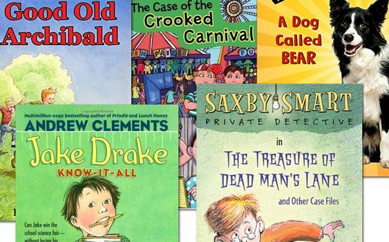 #Sonlight Elementary School Boys' Summer Reading Package 2015. * Jake Drake: Know-It-All * Lost! A Dog Called Bear * The Case of the Crooked Carnival * The Treasure of Dead Man's Lane * Good Old Archibald