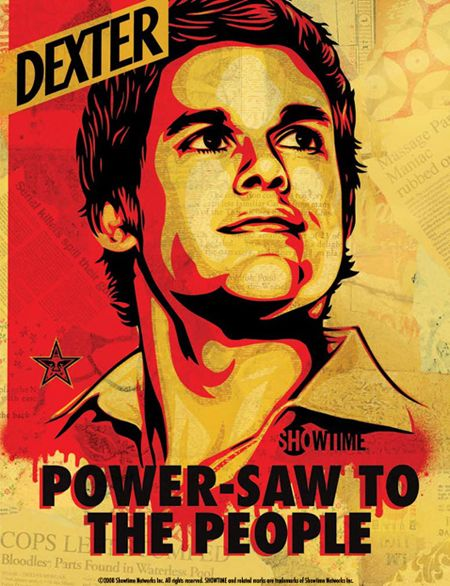 !!! I had this shirt... wish I could find it again. I had this shirt when I had never watched dexter.. Never understood the true meaning of Power Saw to the people until now.. :o
