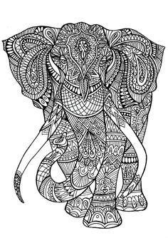 Resultado de imagen de mandalas color animales