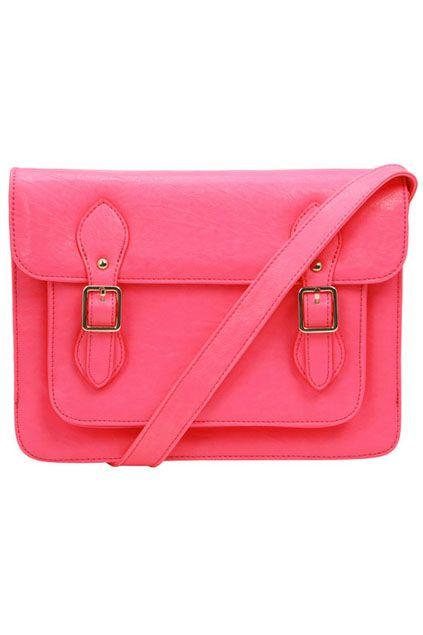 ROMWE   Metal Buckles Pink Bag, The Latest Street Fashion #ROMWEROCOCO