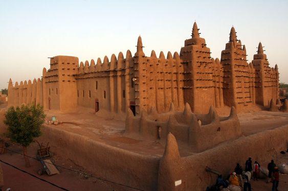Mali - Timbuktu - Djenna Mosque