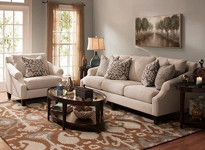 raymour and flanigan living room ideas. Visit a Raymour  Flanigan Furniture Store or go to RaymourFlanigan com see learn how decorate around the Anastasia Transitional Living Roo