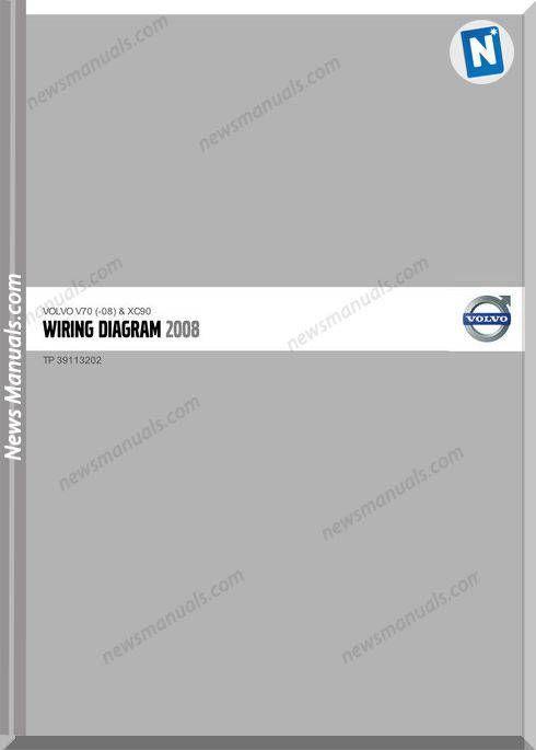 Volvo V70 08 Xc90 2008 Wiring Diagrams Volvo Diagram Diagram Online