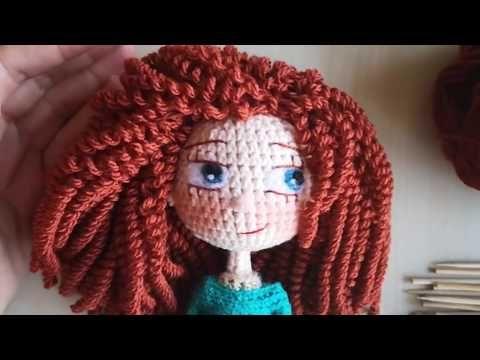 Amigurumi Bukle Sac Yapimi How To Make Curly Hair For Dolls