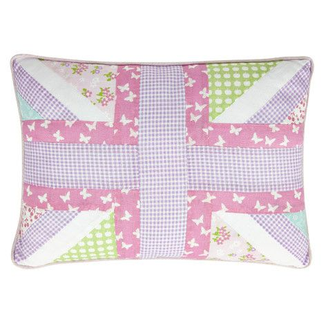Laura Ashley Clementine Patchwork Cushion