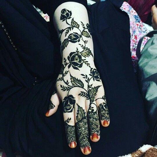 Latest Bridal Rose Henna Design Mehendi Designs Henna Patterns