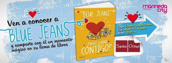 Notición! Francisco de Paula, autor de El Club de los Incomprendidos y Canciones para Paula, estará el 21 de junio en la la librería Santos Ochoa de #MarinedaCity! ¿Los has leído? #BlueJeaners #PintalodeBlue #ECDLI