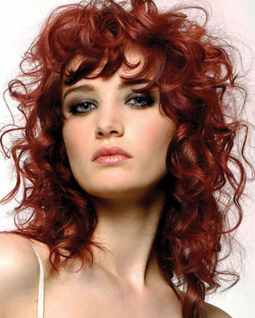 Astounding Cut Not Color Natural Curly Hairstyles With Red Color Natural Hairstyles For Men Maxibearus