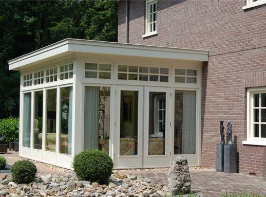Prachtige authentieke aanbouw jaro houtbouw is tevens gespecialiseerd in het bouwen van houten - Interieur van een veranda ...