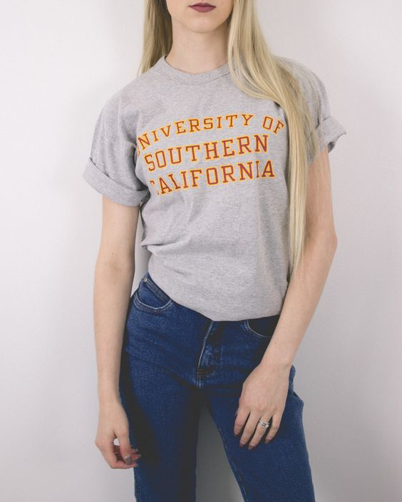 Vintage University of Southern California T Shirt