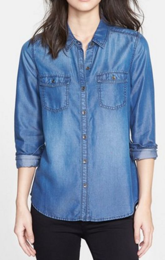 Chambray shirt - a fall must have