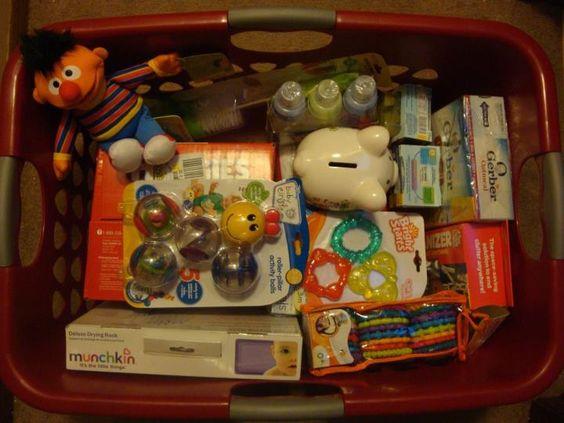Baby Gift Basket Filler Ideas : The world s catalog of ideas