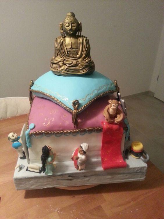 Indischer trockenbau Torte Indianer cake