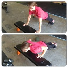 Push ups from your knees ARE NOT the best way to progress toward the full push up. Try the INCLINE PUSH UP instead!