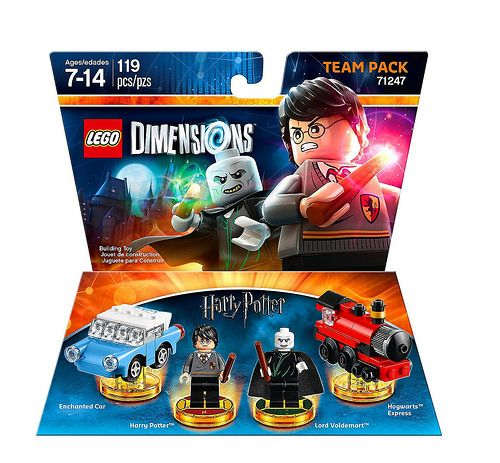 #LEGO Dimensions #HarryPotter Team Pack (71247) - http://www.thebrickfan.com/lego-dimensions-series-2-expansion-packs-revealed/