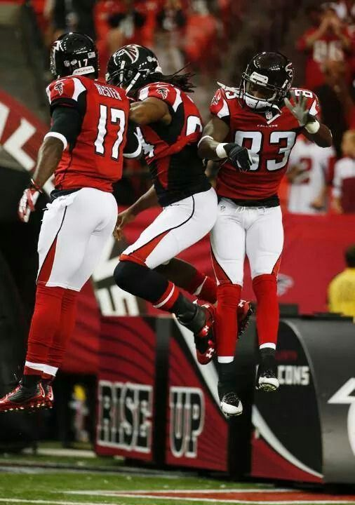 Dirty Birds...Wide Receivers: Devin Hester, Roddy White and Harry Douglas