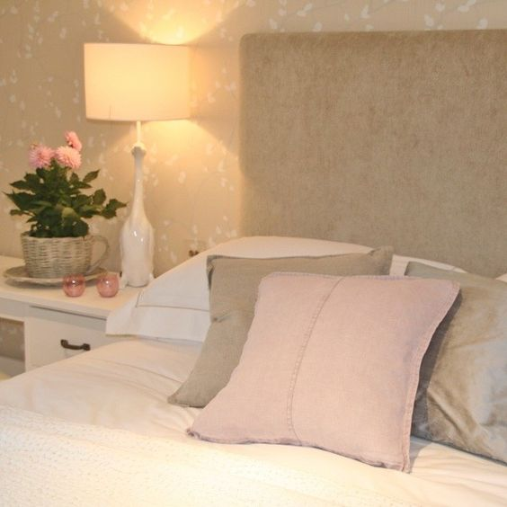 Dusky Pink Linen Cushions