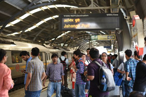 E-Commerce Customers Will Be Able To Pick Up Packages At Delhi Metro Stations Next Month #news #tech #world