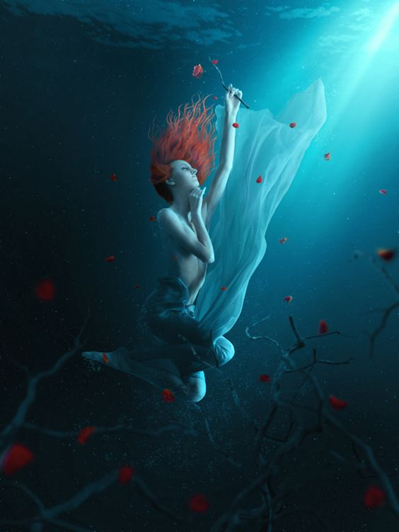 Create a Fantasy Underwater Scene with Photoshop   PSDFan