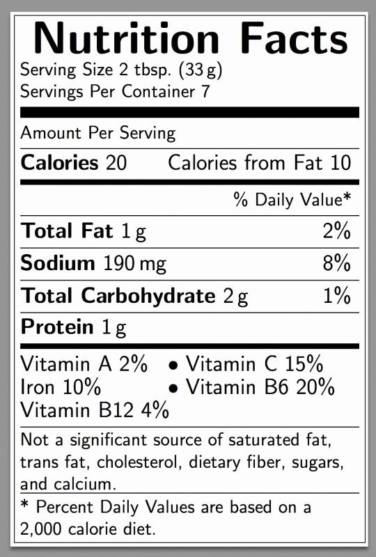 Nutrition Facts Label Template Excel New Nutritional Label Template Nutrition Ftempo Nutrition Facts Label Food Label Template Nutrition Facts Label Template