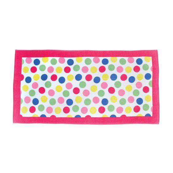 Beach Towel Polka Dot - Giggle