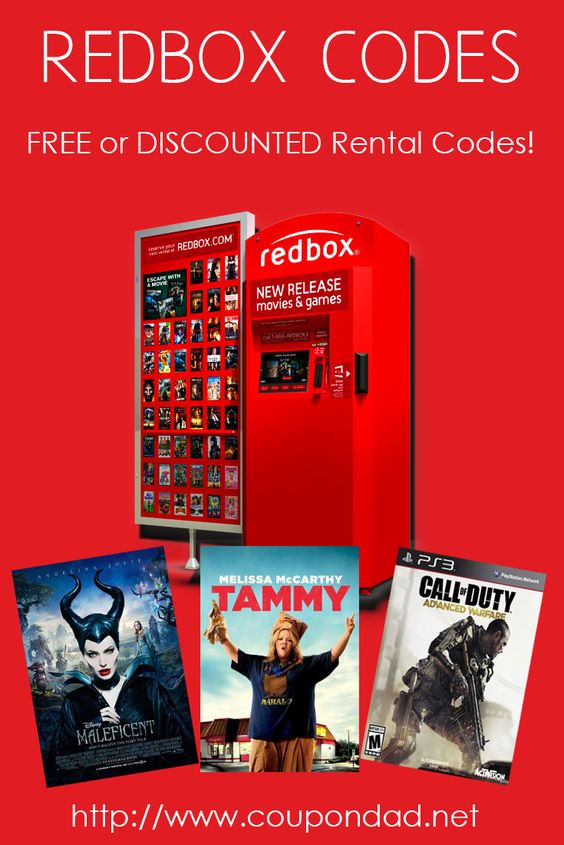 Redbox discounts coupons